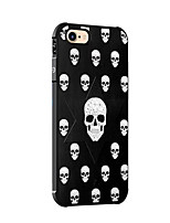 cheap -For iPhone X iPhone 8 Case Cover Shockproof Pattern Back Cover Case Skull Soft Silicone for Apple iPhone X iPhone 8 Plus iPhone 8 iPhone