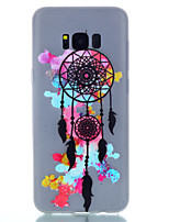cheap -For Samsung Galaxy S8 Plus S8 TPU Material Dreamcatcher Pattern Luminous Phone Case S7 Edge S7 S6 Edge Plus S6 S5 S4 Mini S4 S3