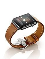 Недорогие -Ремешок для часов для Apple Watch Series 3 / 2 / 1 Apple Повязка на запястье Бабочка Пряжка