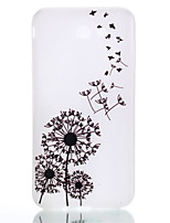 cheap -For Samsung Galaxy TPU Material Dandelion Pattern Luminous Phone Case J5 Prime J710 J510 J310 J3 J120 G530 G360