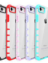abordables -Para Antigolpes Transparente Funda Cubierta Trasera Funda Un Color Dura Policarbonato para Apple iPhone 7 Plus iPhone 7