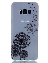 cheap -For Samsung Galaxy S8 Plus S8 TPU Material Dandelion Pattern Luminous Phone Case S7 Edge S7 S6 Edge Plus S6 S5 S4 Mini S4 S3