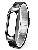 cheap -xiaomi mi band 2 Millet 2 wrist strap steel appliance with milan against lost ring fell screw shell