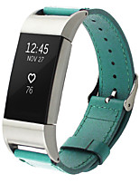 cheap -2017 New Fashion Sports Leather Bracelet Strap Band for Fitbit Charge 2
