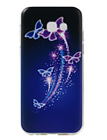 cheap -For Samsung Galaxy A5(2017) Case Cover Butterfly Pattern Super Soft TPU Material Phone Case