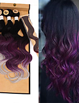 cheap -Deep Wave Lace Closure Synthetics 1pack Ombre Hair Braid