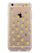 baratos -Capinha Para Apple iPhone 7 Plus iPhone 7 Estampada Capa traseira Fruta Macia TPU para iPhone 7 Plus iPhone 7 iPhone 6s Plus iPhone 6s