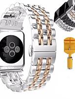 Недорогие -Часовая группа для серии часов яблока 1 2 браслет из нержавеющей стали браслет