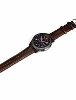cheap -For Samsung Gear S3 Classic/Frontier Genuine Leather Watch Strap Band