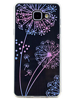cheap -For Samsung Galaxy A3(2017) A5(2017) Dandelion Pattern Soft TPU Material Phone Case for A7(2017) A510 A310