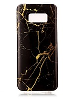 cheap -For Samsung Galaxy S8 Plus S8 IMD Case Back Cover Case Marble Soft TPU