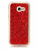 cheap -ForSamsung Galaxy A5(2017) Ultra-thin Case Back Cover Case Glitter Shine Soft TPU for A3(2017)
