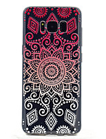 cheap -For Samsung Galaxy S8 S8 Plus Mandala Pattern Soft TPU Material Phone Case
