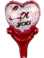 cheap -Balloons Toys Heart-Shaped Heart Inflatable Party 1 Pieces