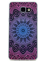 cheap -For Samsung Galaxy A3(2017) A5(2017) Lace Printing Pattern Soft TPU Material Phone Case for A7(2017) A510 A310