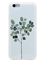 abordables -Funda Para Apple iPhone 8 iPhone 8 Plus IMD Diseños Funda Trasera Árbol Suave TPU para iPhone 8 Plus iPhone 8 iPhone 7 Plus iPhone 7