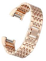 abordables -pour la charge Fitbit 2 bracelet en acier inoxydable à puce bracelet bracelet