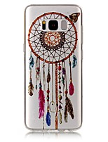 cheap -For Samsung Galaxy S8 Plus S8 Case Cover Wind Chimes Pattern High Permeability TPU Material IMD Craft Phone Case S7 S6 (Edge) S7 S6 S5