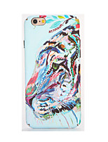 abordables -Pour Phosphorescent Relief Motif Coque Coque Arrière Coque Animal Flexible PUT pour AppleiPhone 7 Plus iPhone 7 iPhone 6s Plus iPhone 6