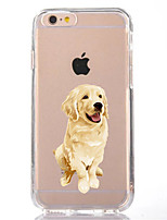 cheap -For iPhone X iPhone 8 Case Cover Transparent Pattern Back Cover Case Dog Soft TPU for Apple iPhone X iPhone 8 Plus iPhone 8 iPhone 7 Plus