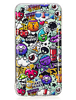 cheap -For Case Cover Glow in the Dark IMD Pattern Back Cover Case Tile Soft TPU for SamsungJ7 (2016) J7 Prime J7 J5 (2016) J5 Prime J5 J3
