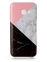cheap -For Samsung Galaxy A3(2017) A5(2017) IMD Case Back Cover Case Marble Soft TPU
