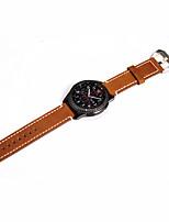 economico -per Samsung Gear s3 classica / frontiera banda cinturino dell'orologio in vera pelle