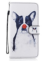 cheap -For Samsung Galaxy  S8 Plus S8 Card Holder Wallet with Stand Flip Pattern Case Full Body Case Dog Hard PU Leather S7 edge S7 S6 S5
