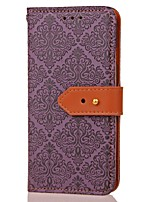 cheap -For Samsung Note 5 Card Holder Wallet with Stand Magnetic Pattern Case Full Body Case Flower Hard PU Leather for Samsung Note 4 Note 3