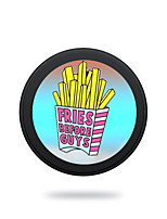 cheap -Portable  5V 2A French Fries Wireless Charging Pad/Stand for All QI-Enabled Devices Samsung Galaxy S7  S7 Edge S6   S6 EdgeGoogle Nexus 4  5