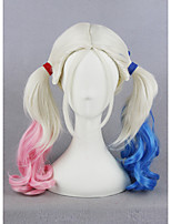 cheap -Synthetic Hair Wigs Curly Capless Cosplay Wig Short Blonde