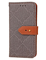 cheap -For Samsung Galaxy J7 Prime J3 Card Holder with Stand Flip Embossed Pattern Case Tile Hard PU Leather for J2 Prime J5 Prime J3 2016 ON5 2016 ON5 2016