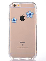abordables -Coque Pour Apple iPhone 7 Plus iPhone 7 Transparente Motif Coque Fleur Flexible TPU pour iPhone 7 Plus iPhone 7 iPhone 6s Plus iPhone 6s