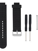 cheap -For Garmin Forerunner Replacement 230/235/630/220/620/735 Silicone Universal Replacement Wrist Watchband Strap