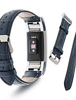 Недорогие -Fitbit заряд 2 группа Моко премиум мягкой натуральной кожи крокодила шаблон ремешок
