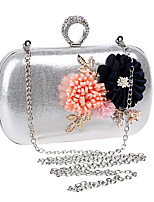 cheap -Women's Bags Polyester Evening Bag Flower for Event/Party Formal All Seasons Blue Gold Black Silver Red