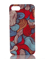 economico -Custodia Per Apple iPhone 7 Plus iPhone 7 Ultra sottile Fantasia/disegno Per retro Geometrica Resistente PC per iPhone 7 Plus iPhone 7