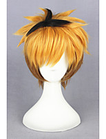 cheap -Short Stracight Color Mixed Tokyo Ghoul-Nagachika Hideyoshi Synthetic 12inch Anime Cosplay Wigs CS-195F