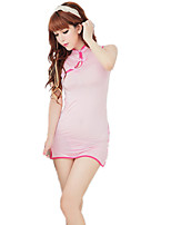 Women's Suits Nightwear,Sexy Lace Solid-Thin Polyester Nylon Spandex