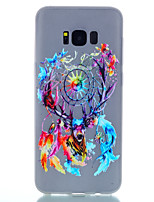 cheap -For Samsung S8 Plus S8 Glow in the Dark Frosted Pattern Case Back Cover Case Cartoon Soft TPU