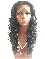 Wholesale 24inch Wavy Half Brazilian Virign Human Hair Wig Long Big Curly Lace Front Human Virgin Wigs With Baby Hair For Black Women