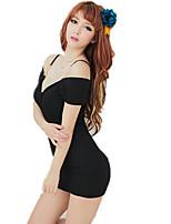 Costumes Vêtement de nuit Femme,Sexy Dentelle Solide Polyester Nylon Spandex