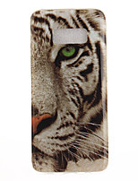 cheap -For Samsung Galaxy S8 Plus S8 Case Cover Tiger Pattern HD Painted TPU Material IMD Process Phone Case S7 edge S7 S6 edge S6
