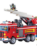 cheap -Building Blocks Toys Square Fire Engines DIY ABS Kid's Pieces