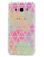 cheap -For Samsung Galaxy J7 Prime J5 Prime Geometric Pattern Soft TPU Material Phone Case for J3Prime J2Prime J510 J310 G530 G360