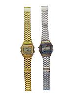 abordables -Mujer Reloj de Moda Cuarzo Aleación Banda Plata Dorado