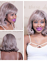 cheap -Synthetic Hair Wigs Curly Capless Natural Wigs Short Medium Gray