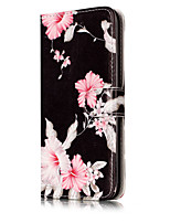 cheap -For iPhone 7Plus 7 PU Leather Material Azalea Pattern Painted Phone Case 6s Plus 6Plus 6S 6 SE 5s 5 5C