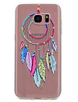 cheap -For Samsung Galaxy S8 S7 Edge Dream Catcher Pattern Soft TPU Material Phone Case for S7 S6 Edge S6 S5 S5 Mini