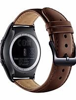 economico -per il classico sm-r732 / r7320 intelligente orologio sostituzione vera pelle cinturino Samsung Gear s2